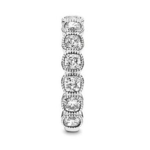 New Pandora Alluring Cushion CZ Ring